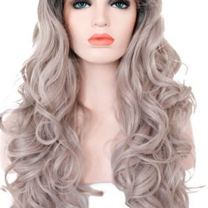 peluca monofilamento gris con raices oscuras. Una peluca muy solicitada, elegante sexy y que siempre queda bien, peluca ajustable gracias a unas cintas