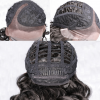 peluca muy rizada estilo afro morena larga. Una peluca muy elegante, peluca lace front, de encaje frontal, queda muy bonita esta peluca es un modelo muy solicitado, peluca cosida a mano de encaje frontal o monofilamento