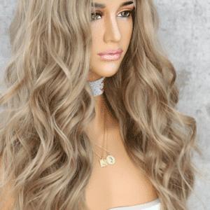 pelos y pelucas de excelente calidad. pelucas indetectables de encaje frontal, resistentes al calor, Largo entre 50 y 60 cm