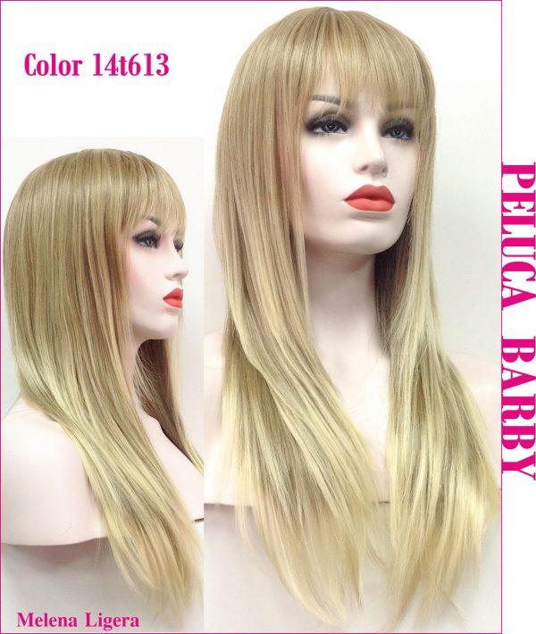 peluca lisa natural rubio claro.Una peluca muy fina y elegante, peluca de color rubio claro, queda muy bonita , Barby es un modelo de los mas vendidos