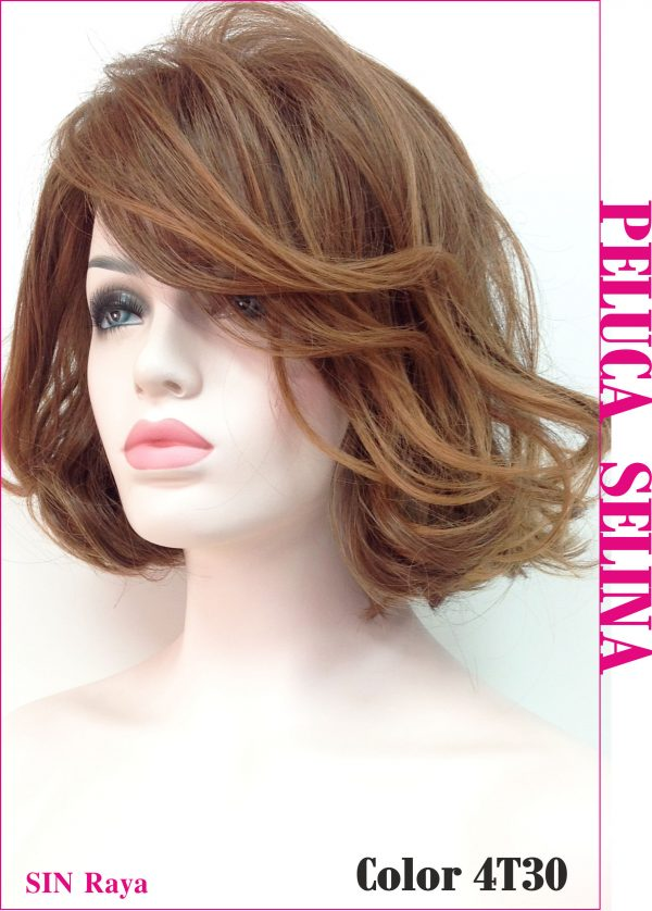 peluca corta resistente al calor. Una peluca muy elegante y con suficiente volumen como para darle un toque sexy, es un modelo que gusta muchisimo