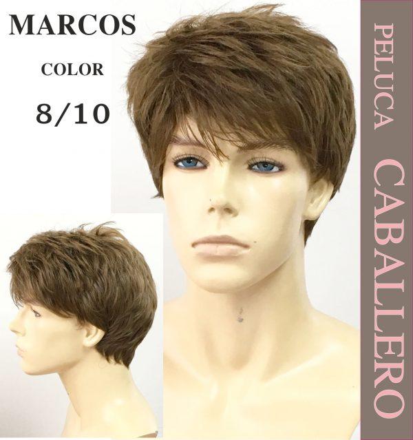 Pelucas de hombre.Peluca hombre modelo Marcos. modelo de peluca juvenil elegante. Elaborada con proteína de colágeno star 10.Parece tu pelo es sedoso con movimiento. Disponible en 3 colores