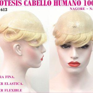 protesis capilar natural hombre mujer. Este modelo versátil y universal tiene una base de 8x10 pulgadas con poly piel rodeando el perimetro