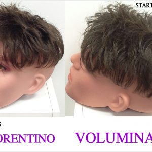 peluca de hombre voluminador . peluquin voluminador caballero. Modelo Florentino. Resistente al calor, con proteína de colágeno star 10. modelo elegante