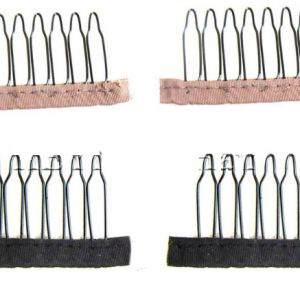 Peinetas para que no se mueva la peluca fabricación pelucas. Peinetas para que las pelucas se ajusten y no se muevan, disponibles para pelucas rubias y morenas. Especial peinetas para fabricación de pelucas morenas, castañas, rubias.