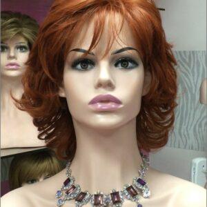 pelucas oncologicas ajustables indetectables, peluca oncologica ajustable indetectable. Peluca con volumen realista. con un estilo elegante