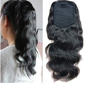 pelo humano cola de caballo.. cola de caballo extension de pelo humano| mechas rubias y marrones, cabello 100% pelo humano, Coleteros de cabello natural. Coleteros ponytail de pelo humano.