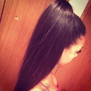 extensiónde cabello coletero natural caoba.Coletero de pelo humano, extensión de cabello humano color borgoña, cola de caballo en tonos caoba o pelirrojo