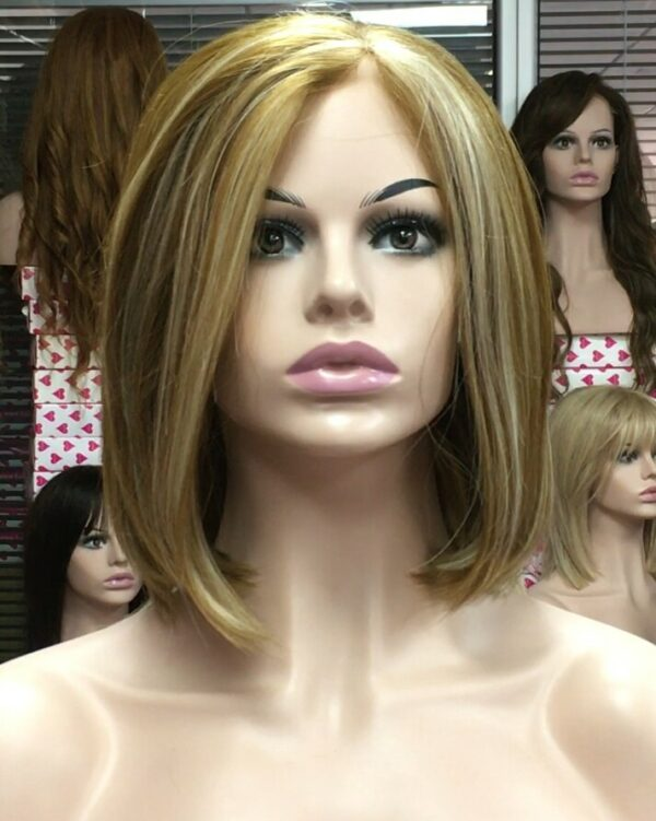 Indetectable peluca lace front rubia