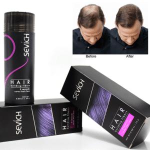 Fibra de pelo en polvo de proteínade queratina