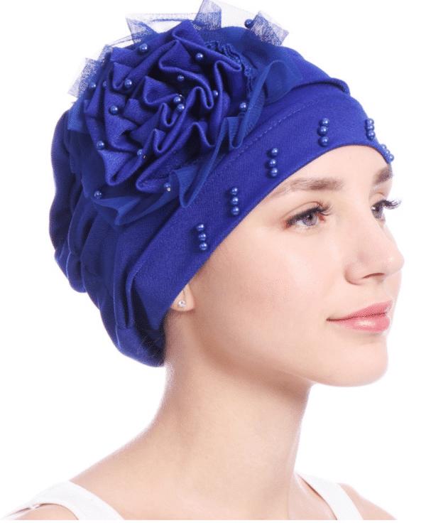 Turbantes oncologicos gorras quimio. la construcción elástica Se estirará y se adapta cómodamente a cualquier tamaño de la cabeza.