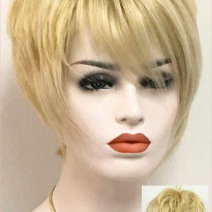 Florentina peluca de cabello humano elegante