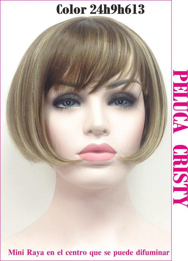 Peluca colageno modelo cristy. Cristy...un modelo sofisticado, elegante y sencillo al mismo tiempo adapto a todo tipo de personas. Es una melena estilo Bob