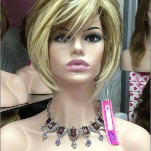 Pelucas media melena indetectables. Peluca indetectable de cabello corto resistente al calor pelo diferentes colores peluca de colágeno resistente al calor hasta un máximo de 150º peluca cómoda para usar a diario. pelucas
