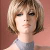 Peluca rubia natural colageno. Resistente al calor hasta máximo 130º. Peluca muy realista, ajustable a todos los tamaños, lleva unas cintas elásticas en el interior de la peluca que se ajusta e impide que la peluca se mueva.