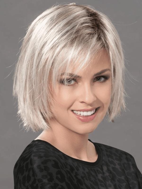 Postizo pieza de cabello. Fizz de Ellen Wille es un topper de fibra de altisima calidad, está listo para usar. Agrega volumen y cobertura en el área de la coronilla.