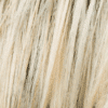 Mezcla de platino perlado, rubio ceniza oscuro y rubio miel medio con raíces de ceniza