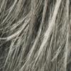 Mezcla de marrón medio gris plateado y blanco con