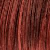 Mezcla de rojo cobre oscuro, castaño oscuro y marrón oscuro