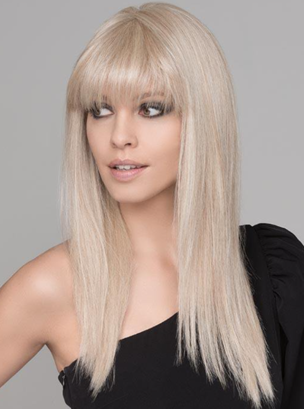 Peluca larga lisa resistente al calor. Cher Futura de Ellen Wille es una peluca con una maravillosa melena larga con flequillo lisa.