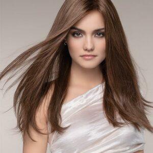 Peluca Obsession pelo natural Pelucas confeccionadas en cabello natural 100%. La peluca del modelo Obsessión, es una peluca de cabello humano larga y lujosa que está hecha a mano y perfeccionada en todos los sentidos.